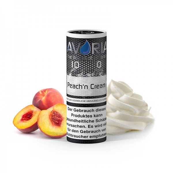 Peach'n Cream E-Liquid