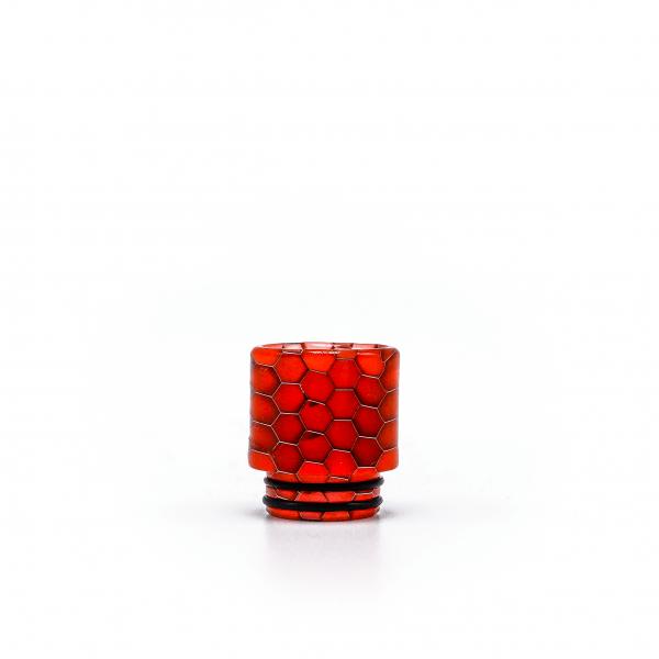 TFV8 SnakeSkin Multicolor DripTip in orange